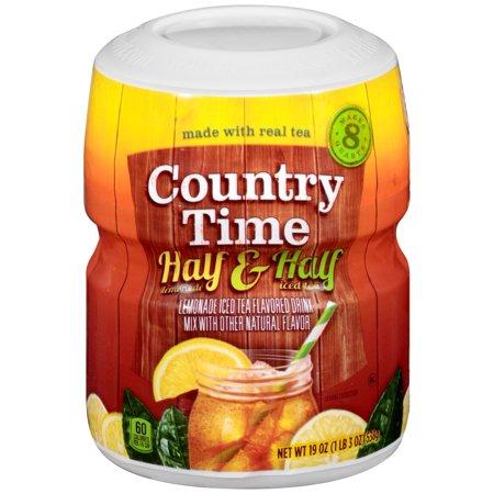 Bột Trà Chanh Pha Nước - Country Time Half Lemonade & Half Iced ...