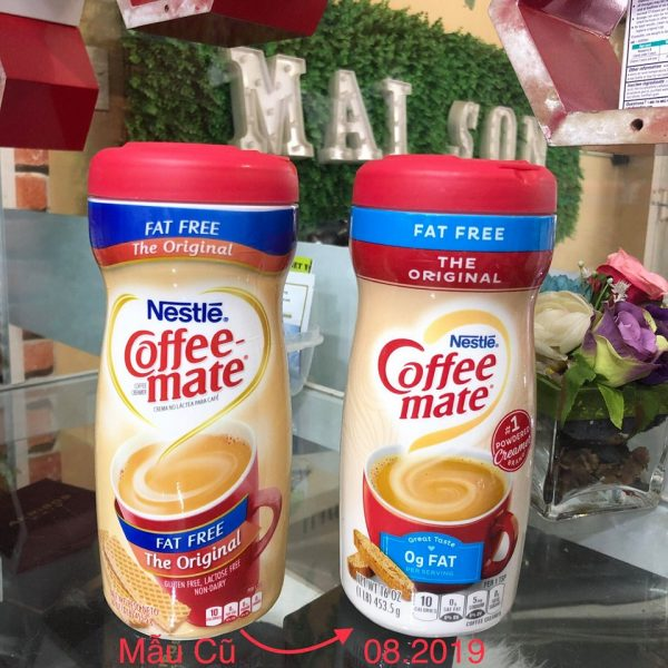 Coffee Mate Fat Free The Original new